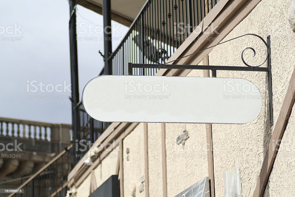 Vintage sign royalty-free stock photo