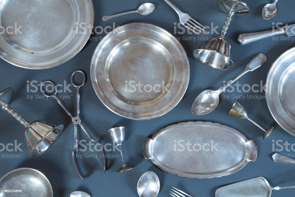 Vintage couverts - Photo de Aliment libre de droits