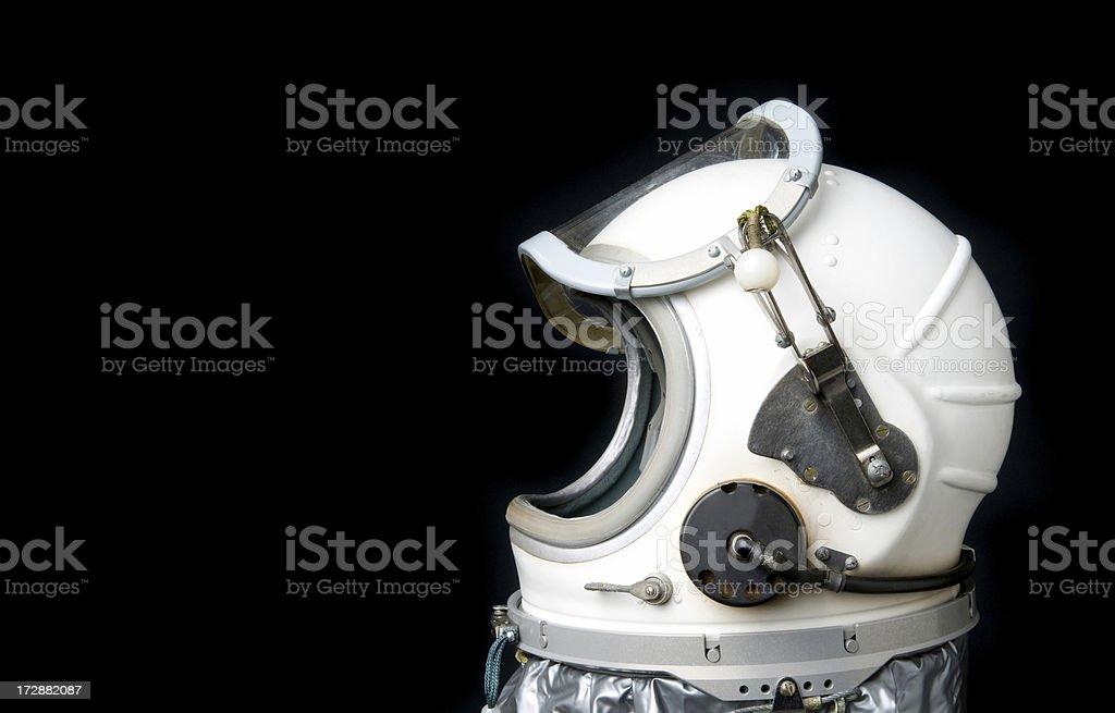 Vintage Space Helmet stock photo