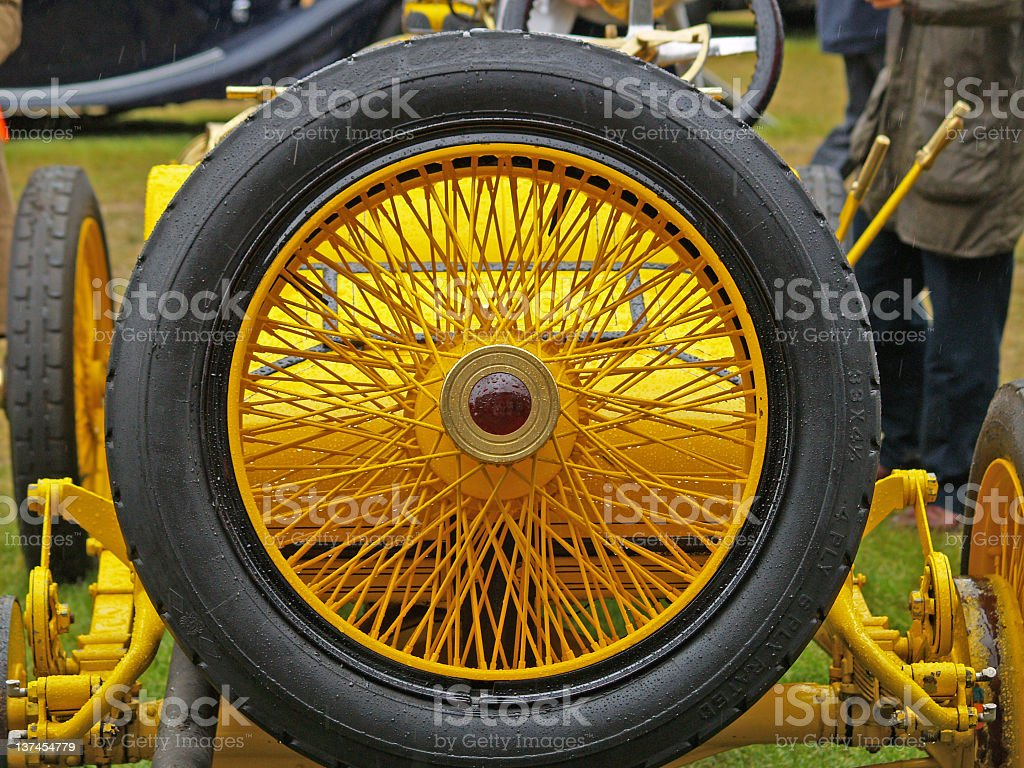 Vintage Spare royalty-free stock photo