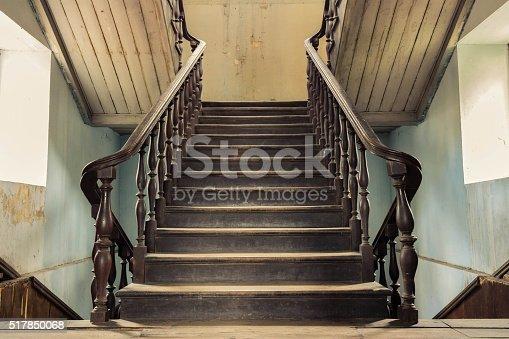 istock vintage stair 517850068
