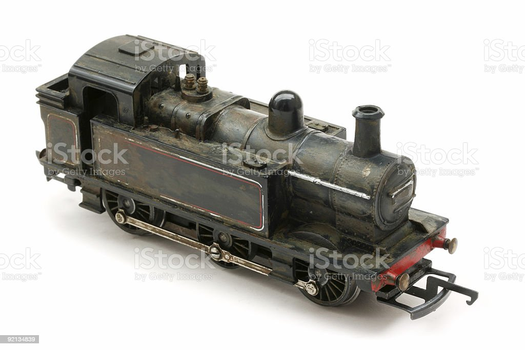 Vintage Steam shunter engine model royalty-free stock photo