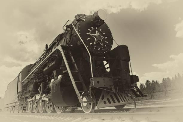 vintage steam train - konduktor pociągu zdjęcia i obrazy z banku zdjęć
