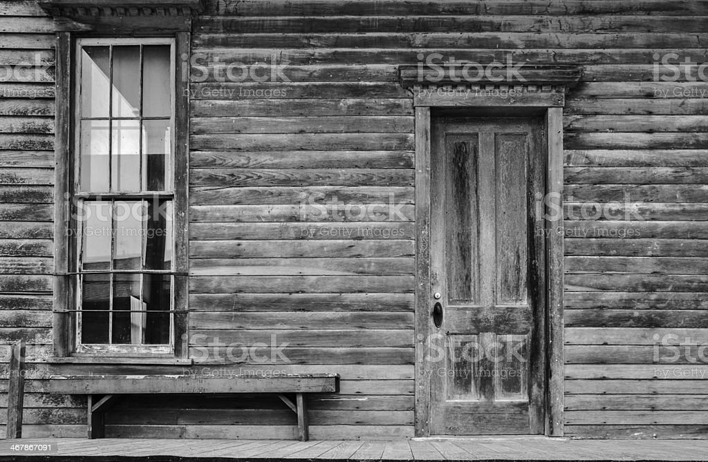 Vintage Store Front stock photo