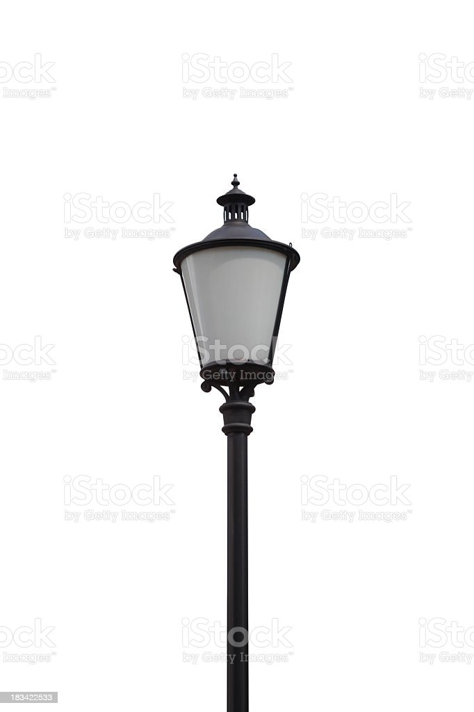 Vintage Street Lamp royalty-free stock photo