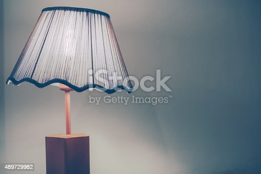 847138534 istock photo Vintage style bed lamp 489729982