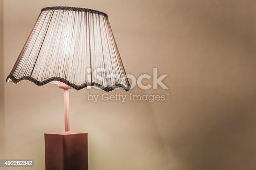 847138534 istock photo Vintage style bed lamp 492262342