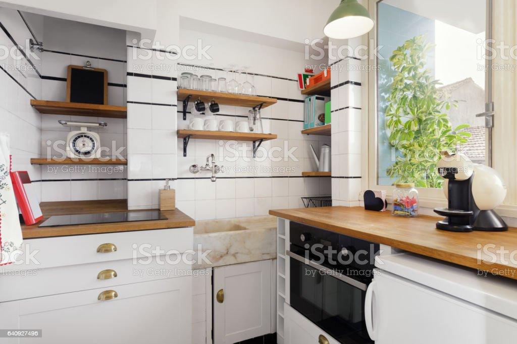Vintagestil Küche Stockfoto und mehr Bilder von ...