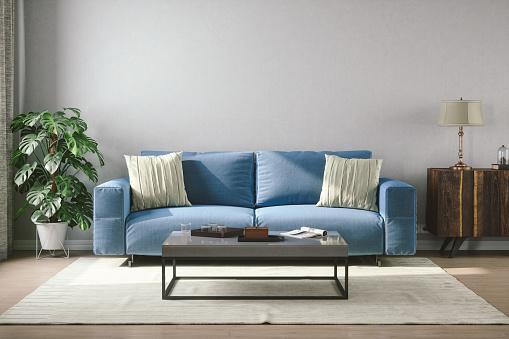 istock Vintage Style Living Room 861980226