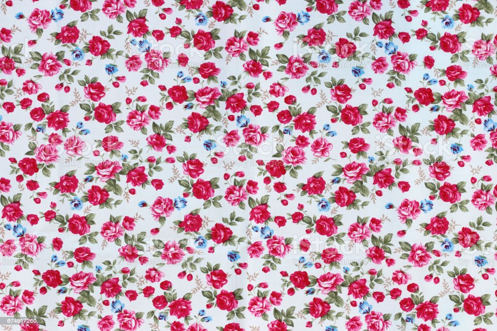 vintage style of tapestry flowers fabric pattern background royalty-free stock photo