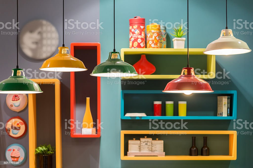 Vintage style tin lantern lamps i