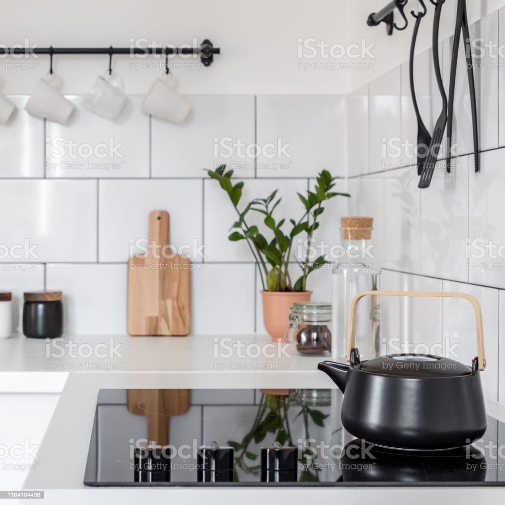 Vintagestil Weiße Küche Stockfoto und mehr Bilder von ...