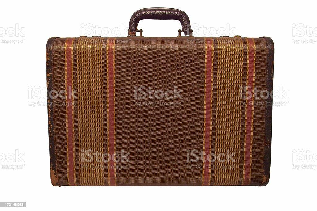 vintage suitcase 4 royalty-free stock photo