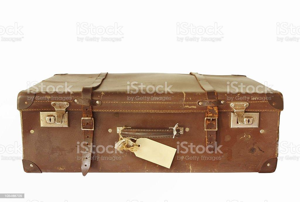Vintage mala - foto de acervo