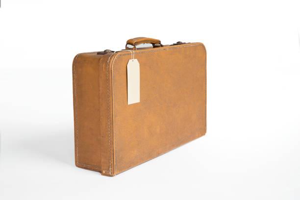 vintage çanta - valiz stok fotoğraflar ve resimler