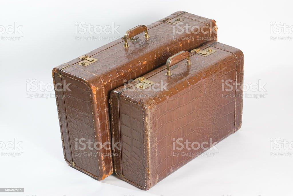 Vintage Suitcase Series royalty-free stock photo