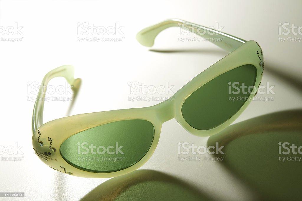 Vintage Sunglasses stock photo