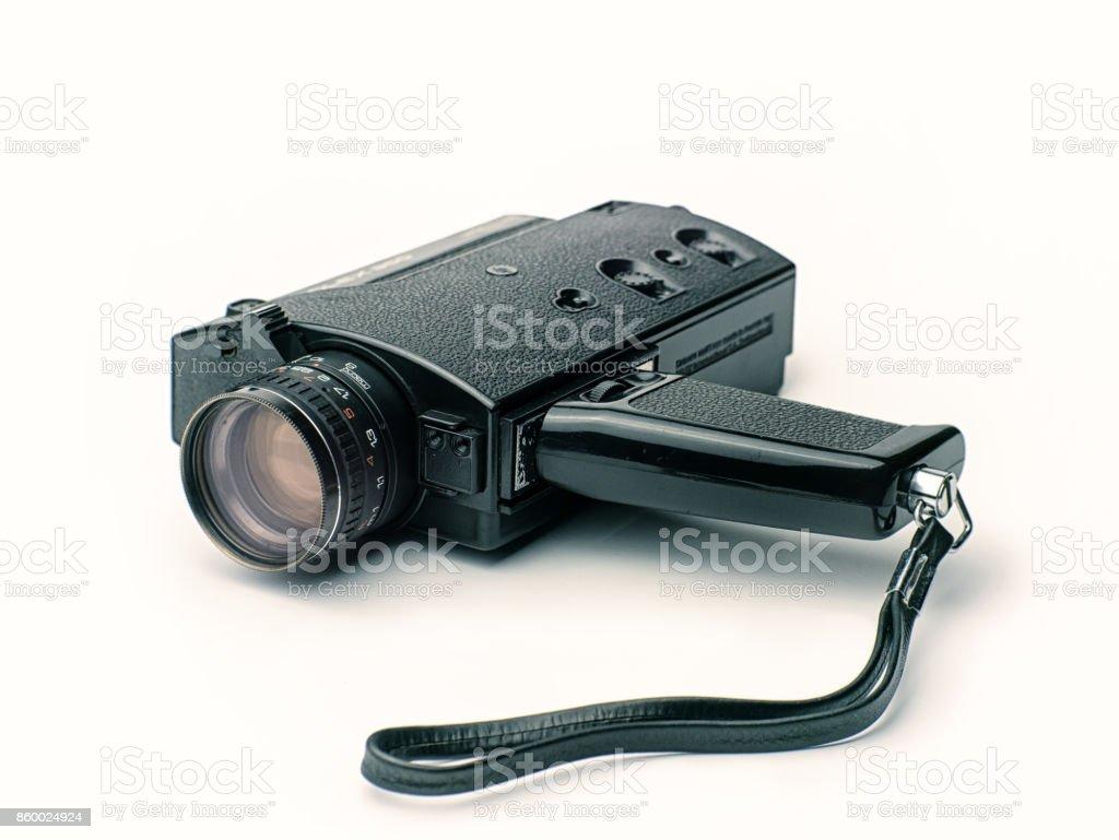 Vintage Super8 Film Camera stock photo
