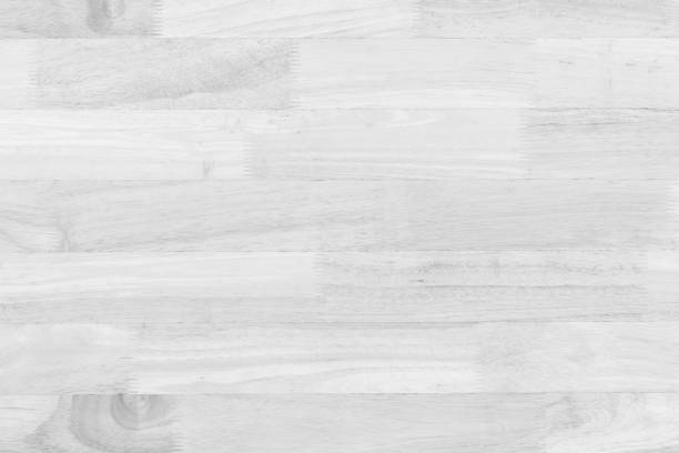Vintage surface white wood table and rustic grain texture background. Close up of dark rustic wall made of old wood table planks texture. Rustic wood table texture background template for your design.n. stock photo