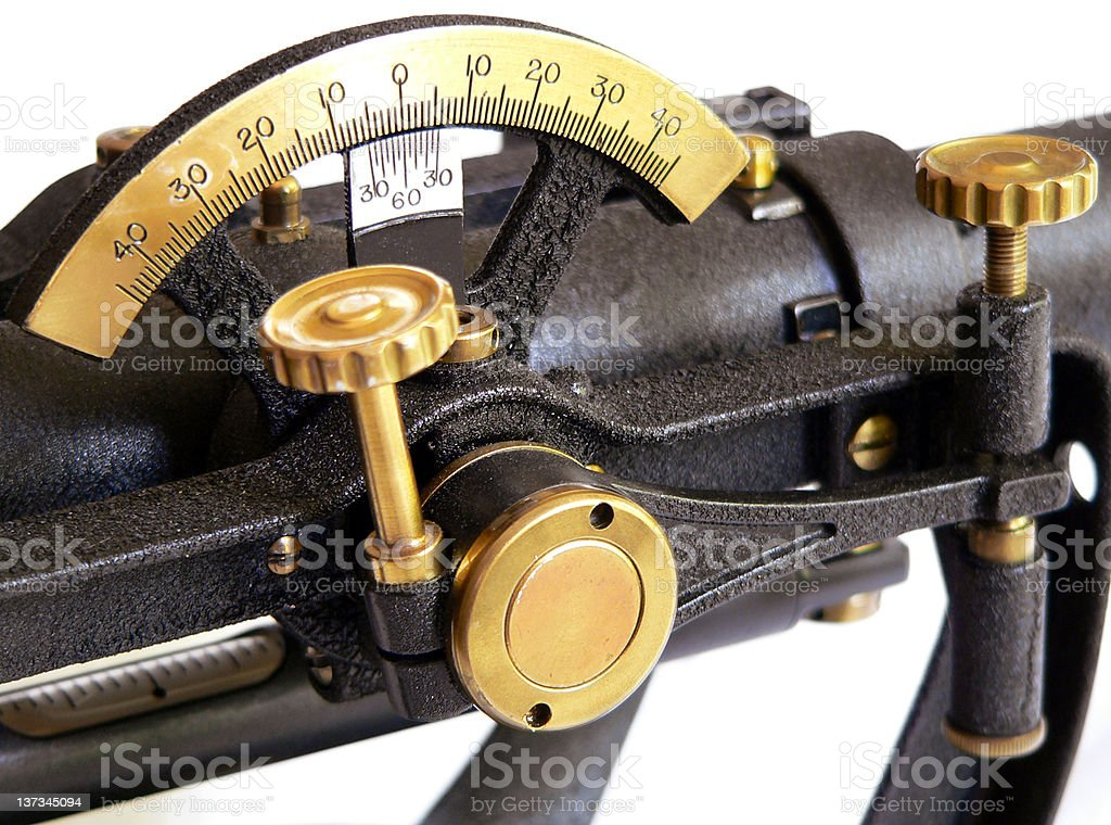 Vintage Surveying Equipment royalty-free stock photo