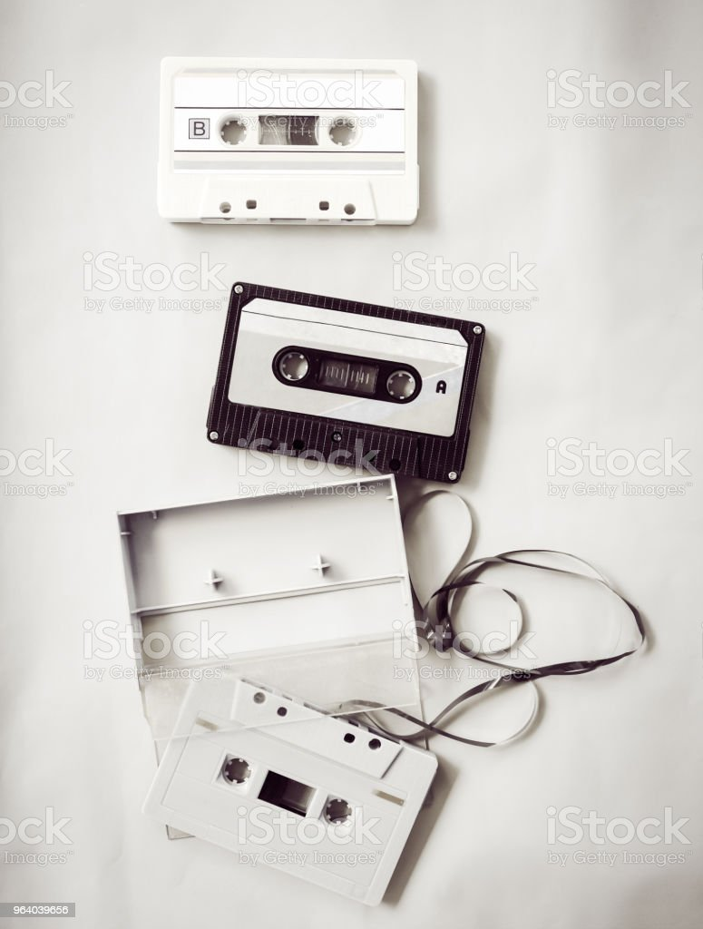 vintage tape cassette - Royalty-free 1960-1969 Stock Photo