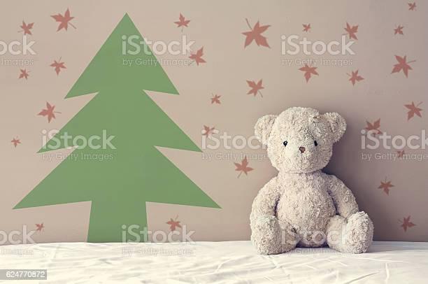 Vintage teddy bear sit on the right side white bed picture id624770872?b=1&k=6&m=624770872&s=612x612&h=p nsez0d4f vjuprgxlaqqpbqisv1jsectvx6vlssbu=