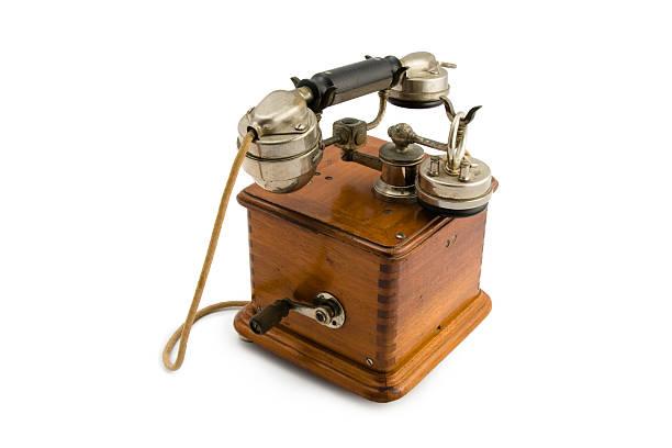 Vintage teléfono - foto de stock