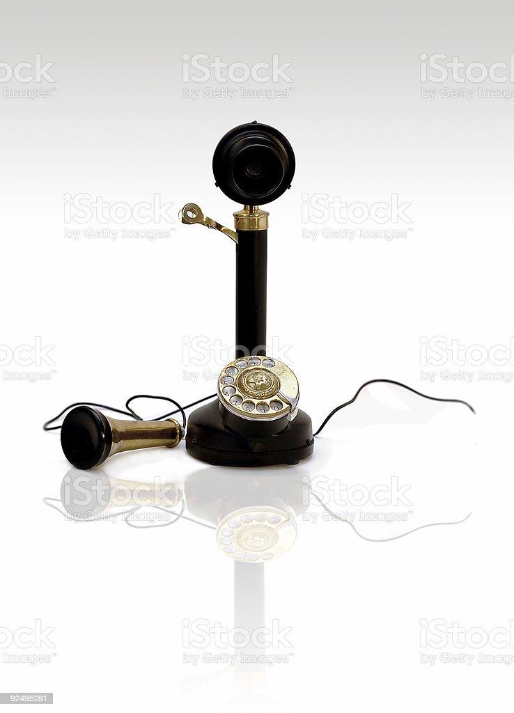 Vintage Telefon Lizenzfreies stock-foto