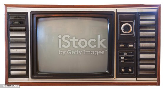 istock vintage television isolated 480108589