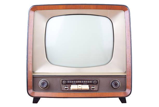 Vintage television foto