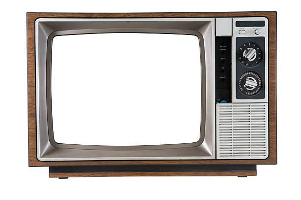 vintage television - 復古風格 個照片及圖片檔