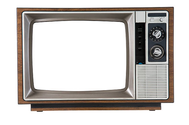 vintage television - old fashioned stock pictures, royalty-free photos & images