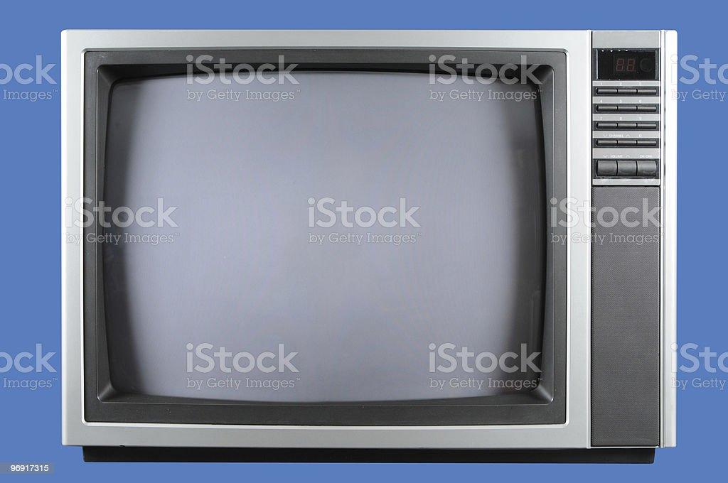 Vintage television royalty-free stock photo