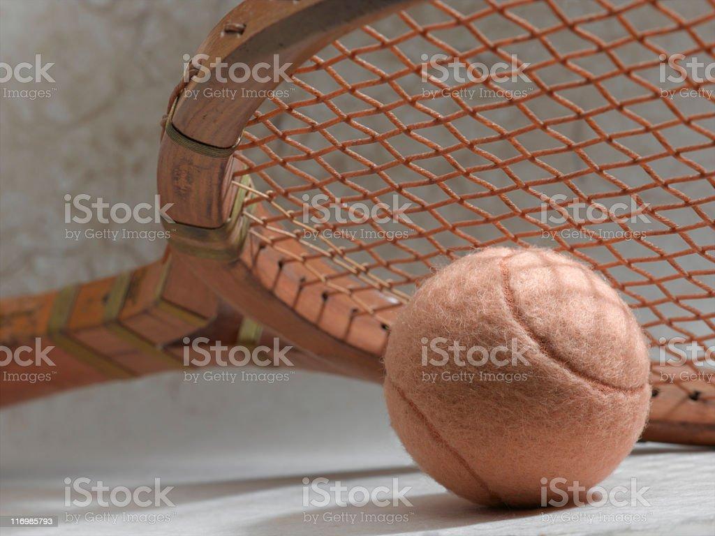 Vintage Tennis royalty-free stock photo