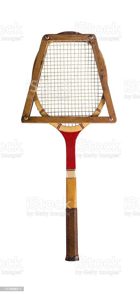 Vintage Tennis Racket royalty-free stock photo