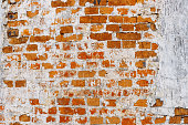 Vintage texture Red brick wall for design. Concept