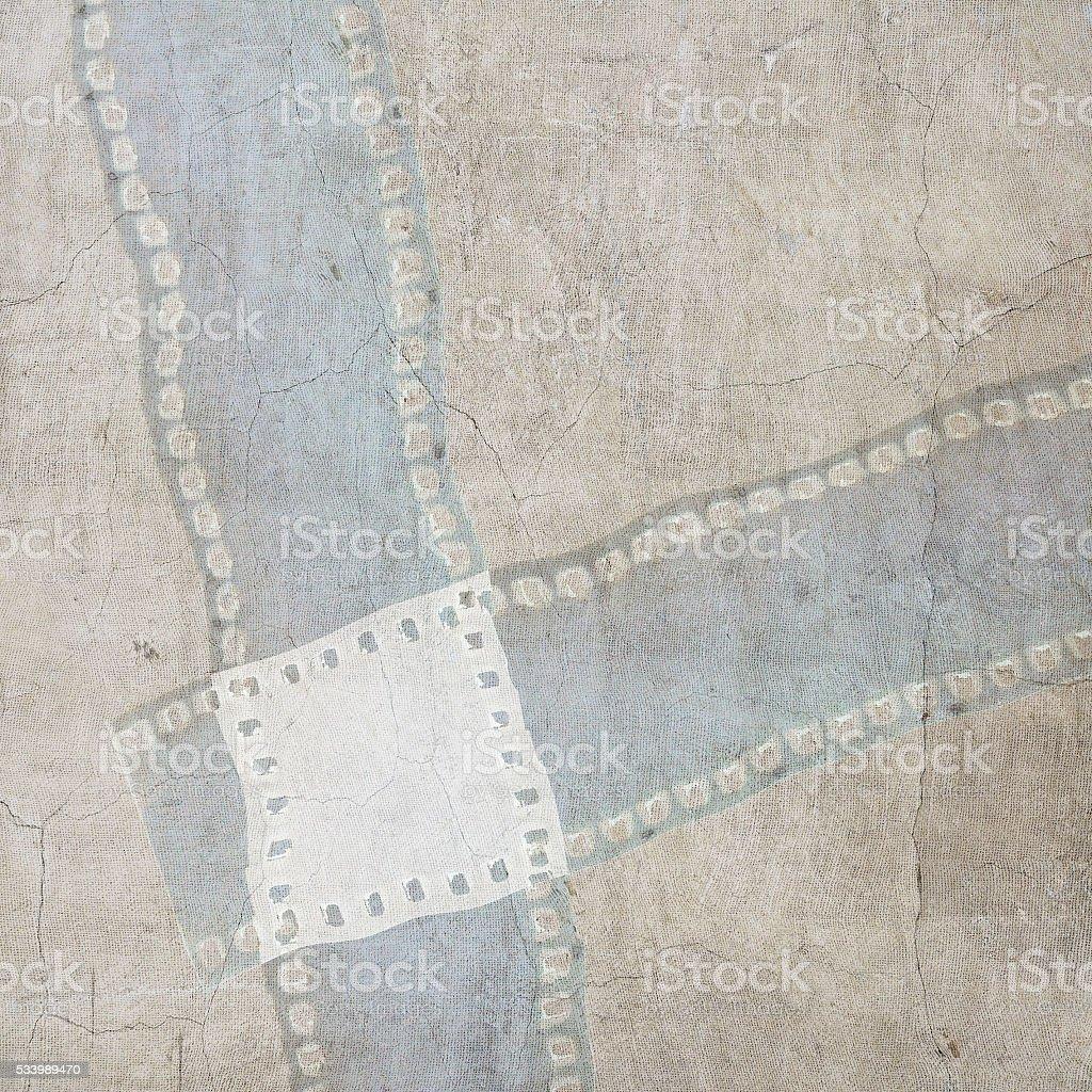 Klassisch Strukturierten Filmstreifen Rahmen Hintergrund Im ...