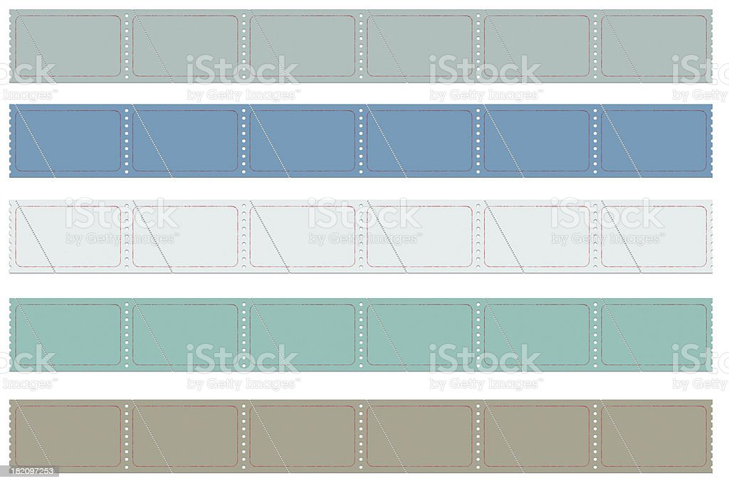 Vintage Tickets royalty-free stock photo