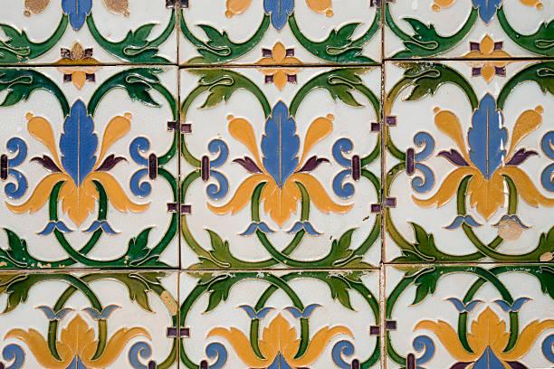 Vintage Tiles stock photo