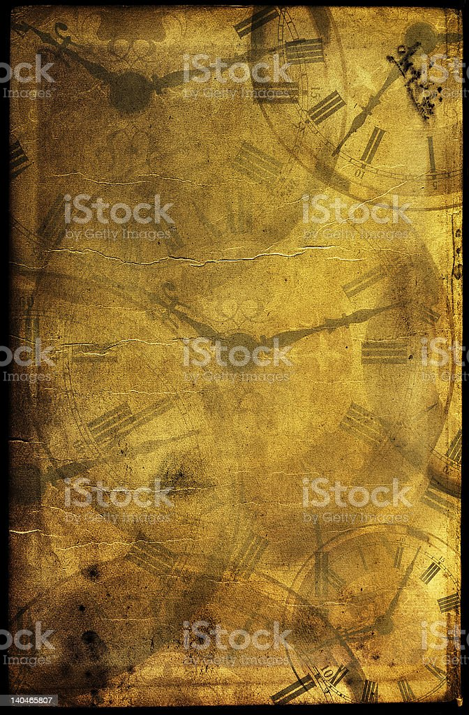 Vintage time collage royalty-free stock photo