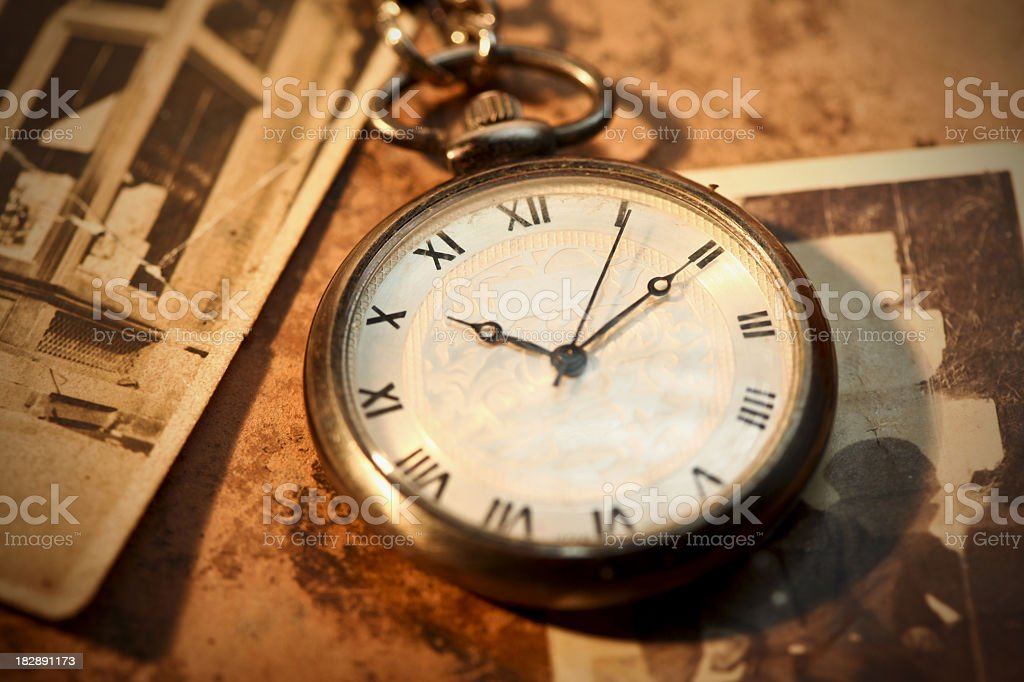Vintage Time stock photo