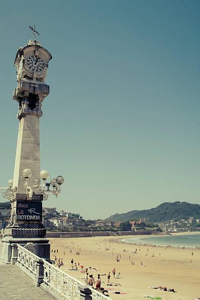 Imagen Vintage, en tonos de San Sebastián, España - foto de stock