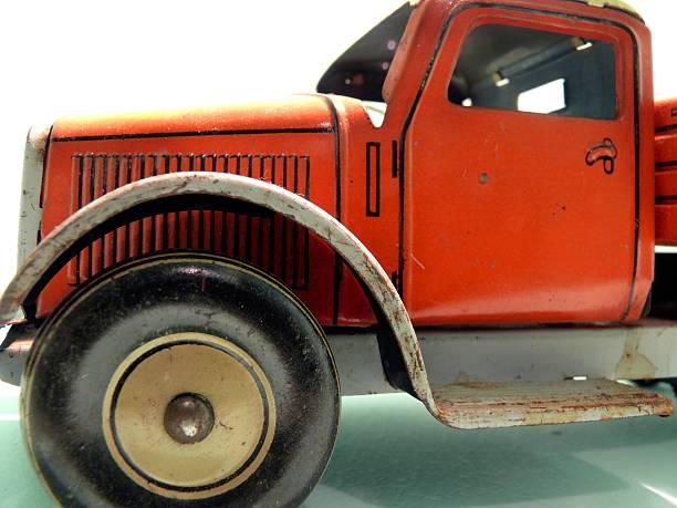 Vintage toy stock photo