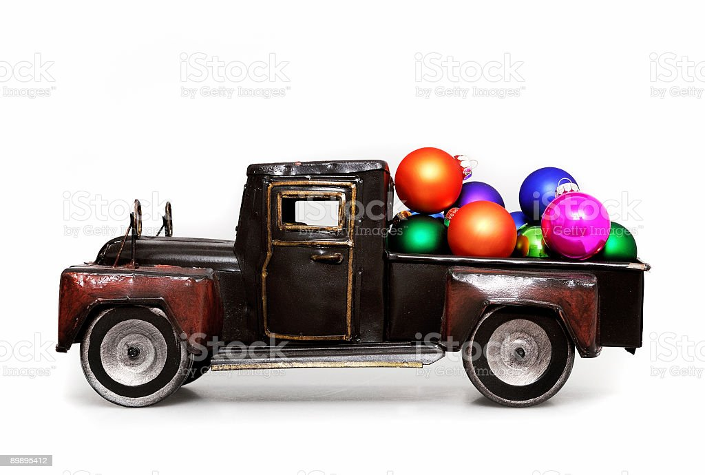 vintage camión de juguete foto de stock libre de derechos