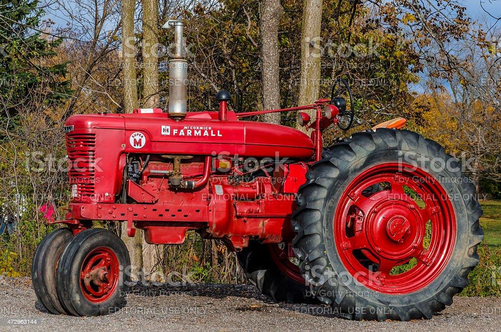 Vintage Tractor圖像檔