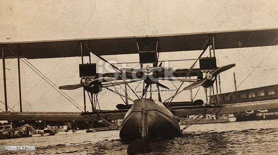 Designed to land on Water, c1910s/20s.