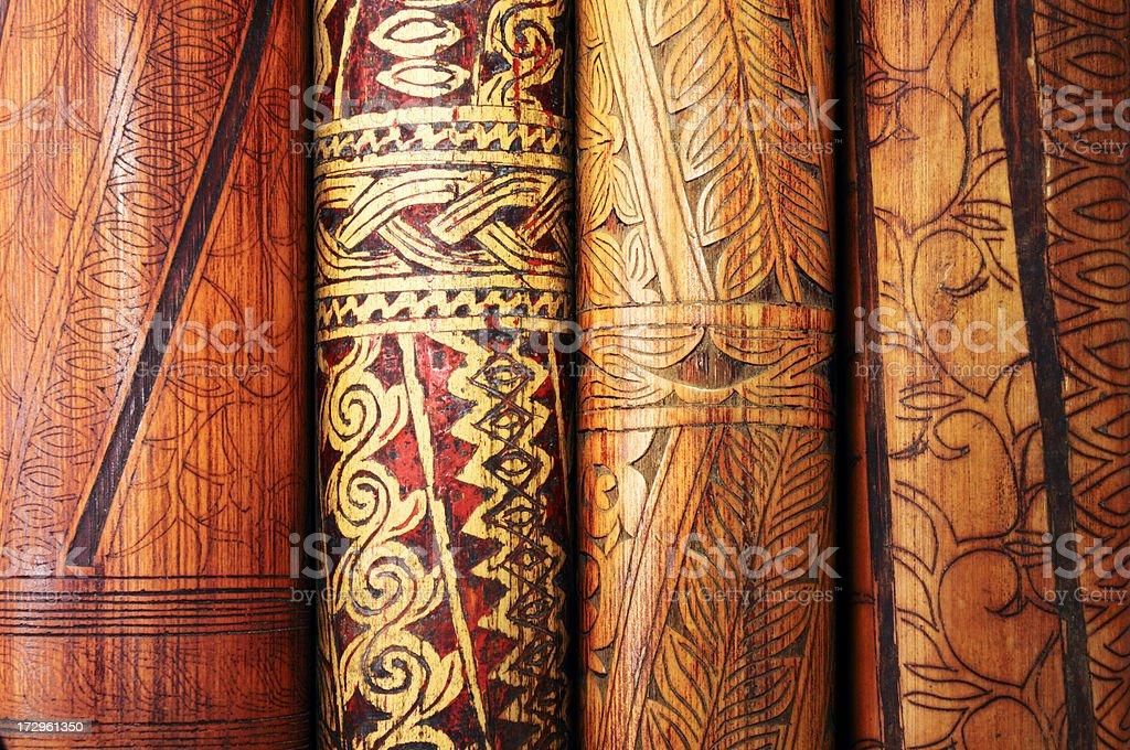Vintage Tribal Art royalty-free stock photo