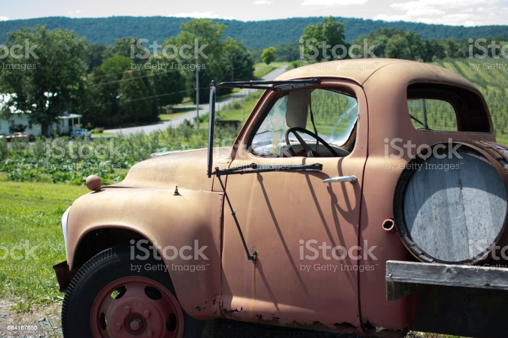 Vintage Truck royalty-free stock photo