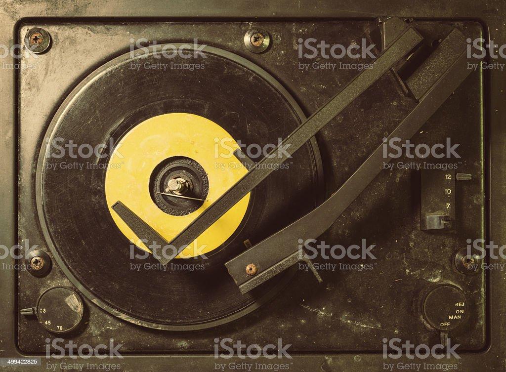 Vintage Tunes royalty-free stock photo
