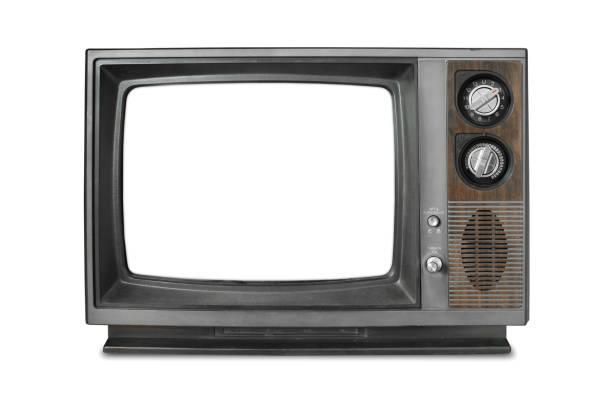 vintage-fernseher - alte serien stock-fotos und bilder